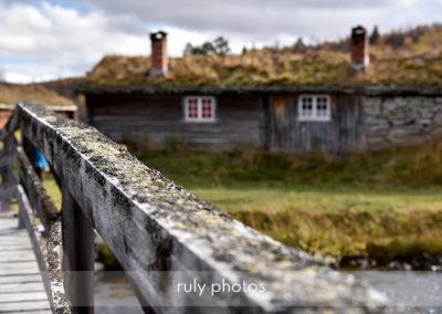 pont et maison en Norvège - voyage