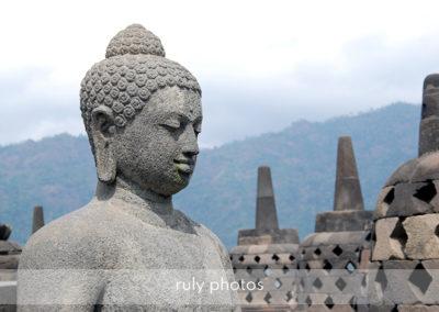 Temple de Borobudur en Indonésie - voyage