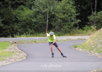 ski roue